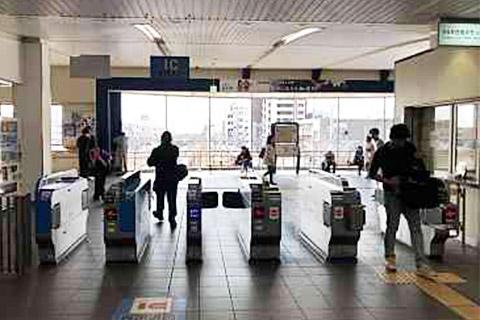 東加古川駅の改札を右手側に抜けます